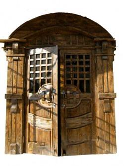 "Дверь под старину ""Бажена"""
