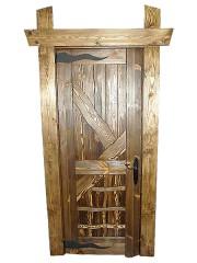 """Дверь под старину """"Светозара"""""""
