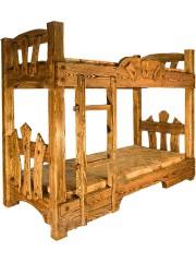 Кровать под старину 2-х ярусная