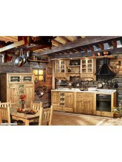 """Кухня под старину """"Нисса"""""""