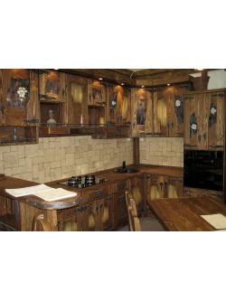 """Кухня под старину """"Мегара"""""""