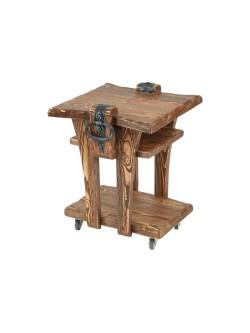 Стол под старину кофейный