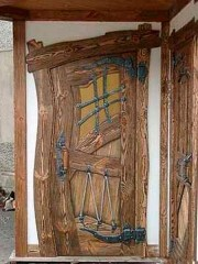 """Дверь под старину """"Родислава"""""""