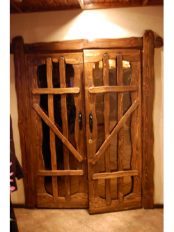 "Дверь под старину ""Снежана"""