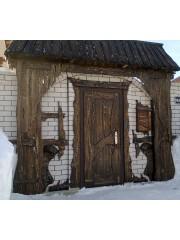 """Дверь под старину """"Александра"""""""