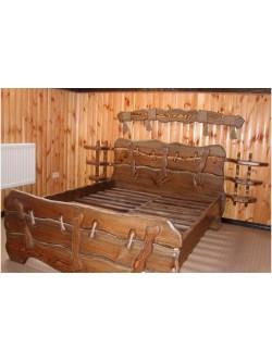 Кровать под старину мод.  44