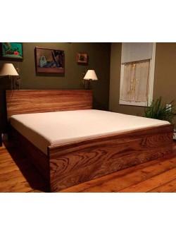 Кровать из массива дуба мод. 46