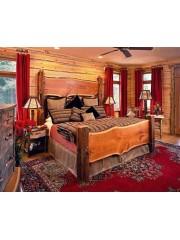 Кровать из массива дуба мод. 47