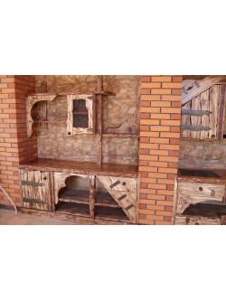 """Кухня под старину """"Тира"""""""