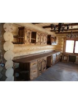 """Кухня под старину """"Лозанна"""""""