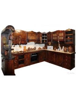 """Кухня под старину """"Галатия"""""""