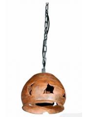 Светильник с глиняным плафоном мод. 12