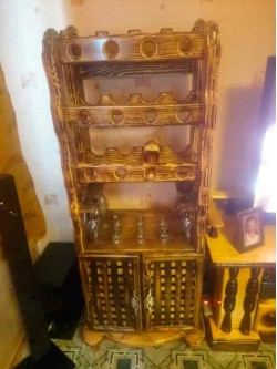 Шкаф для вина под старину мод. 3